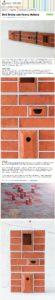 Bird Bricks / Stenen vogelhuisjes in de muur   Gimmii Magazine
